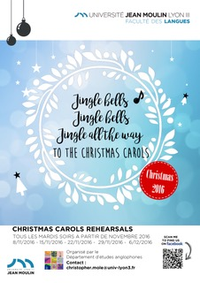 Affiche Christmas Carols 2016