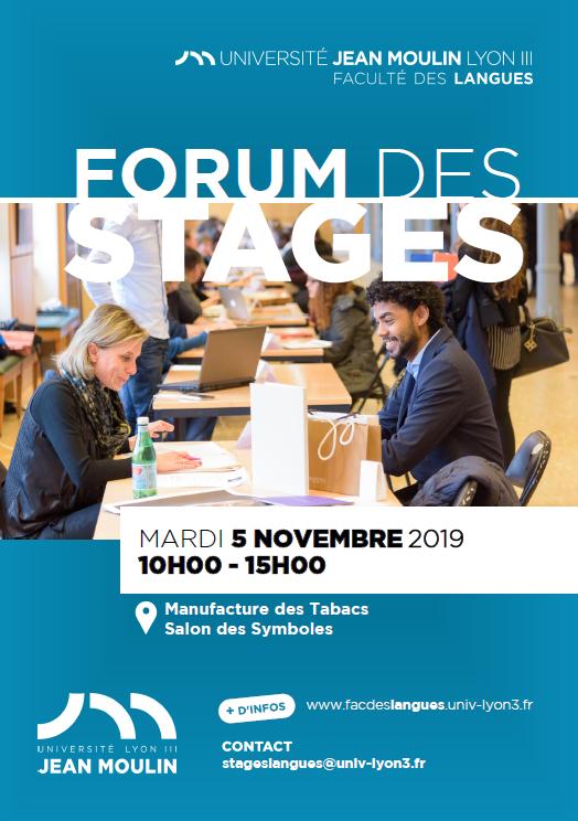Forum des stages 2019